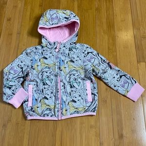 Disney Princess Zip-Up Hoodie for Kids pink 4